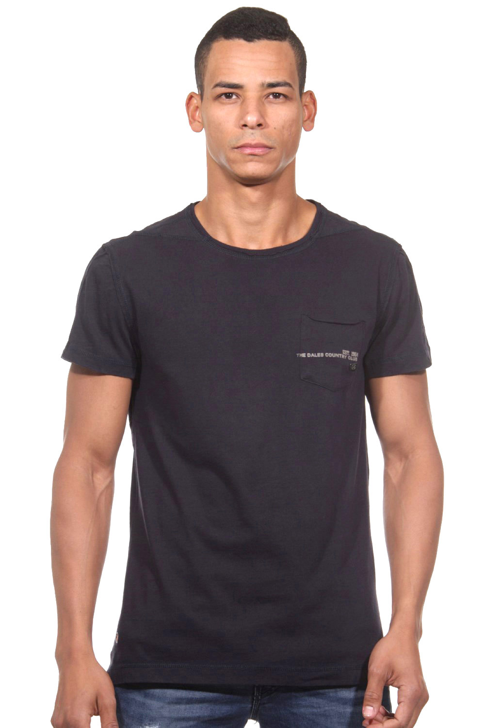 TOM TAILOR T-Shirt Rundhals slim fit auf oboy.de