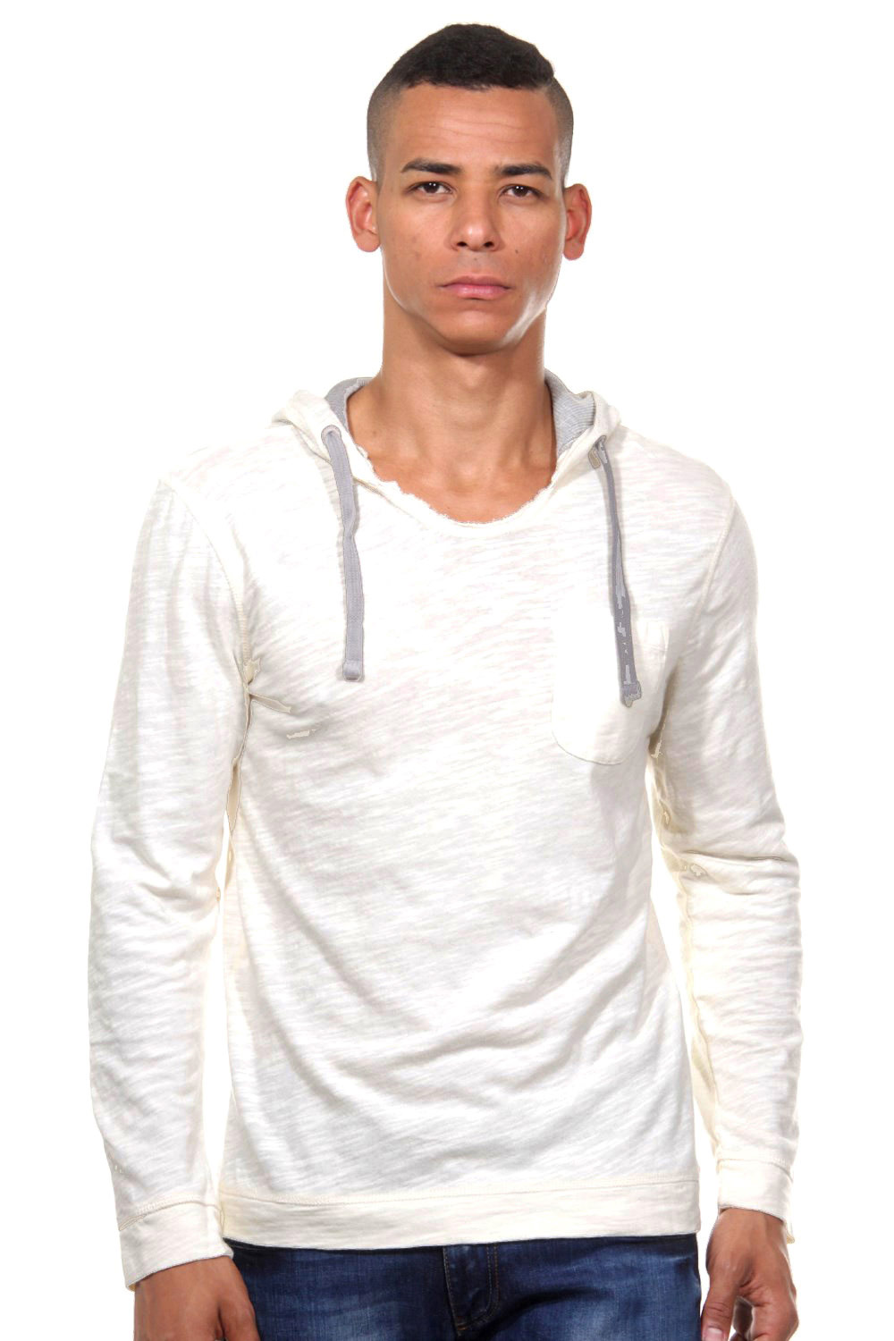 TOM TAILOR Kapuzenlangarmshirt slim fit auf oboy.de