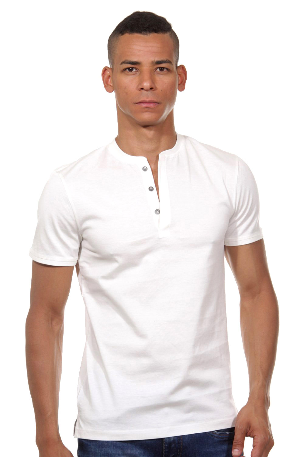 TOM TAILOR Henley T-Shirt slim fit auf oboy.de