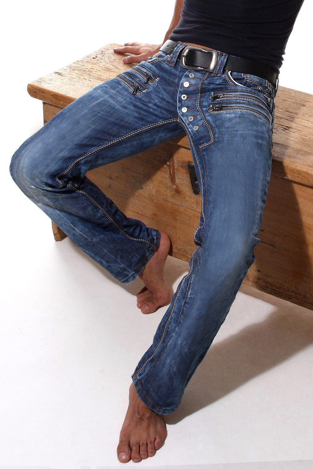 BRIGHT LIMITED EDITION Hüftjeans auf oboy.de