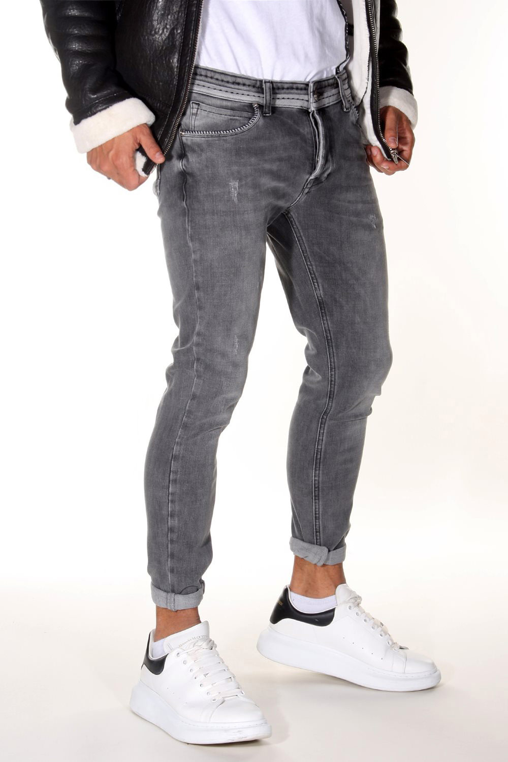 BRIGHT Stretch-Jeans slim fit auf oboy.de