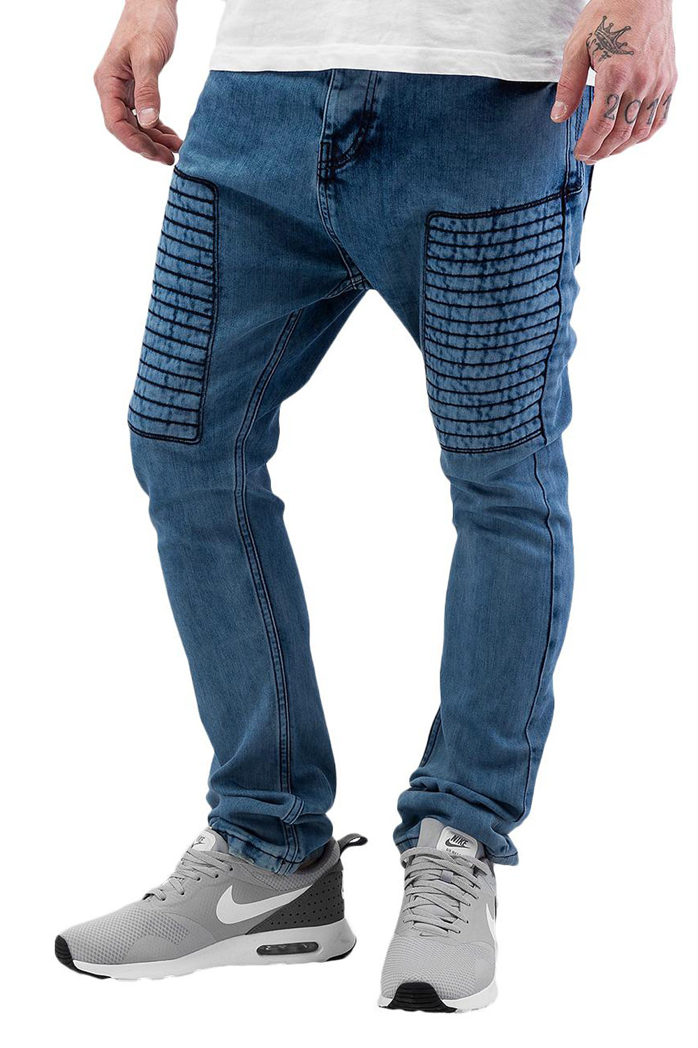 BANGASTIC Embroidery Antifit Jeans Blue auf oboy.de