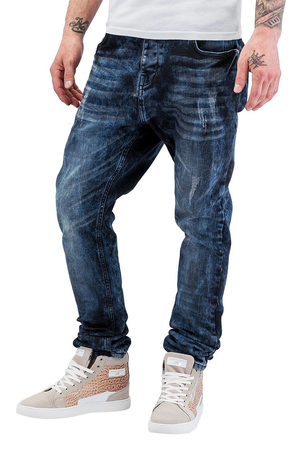 BANGASTIC Shiro Straight Fit Jeans Blue auf oboy.de