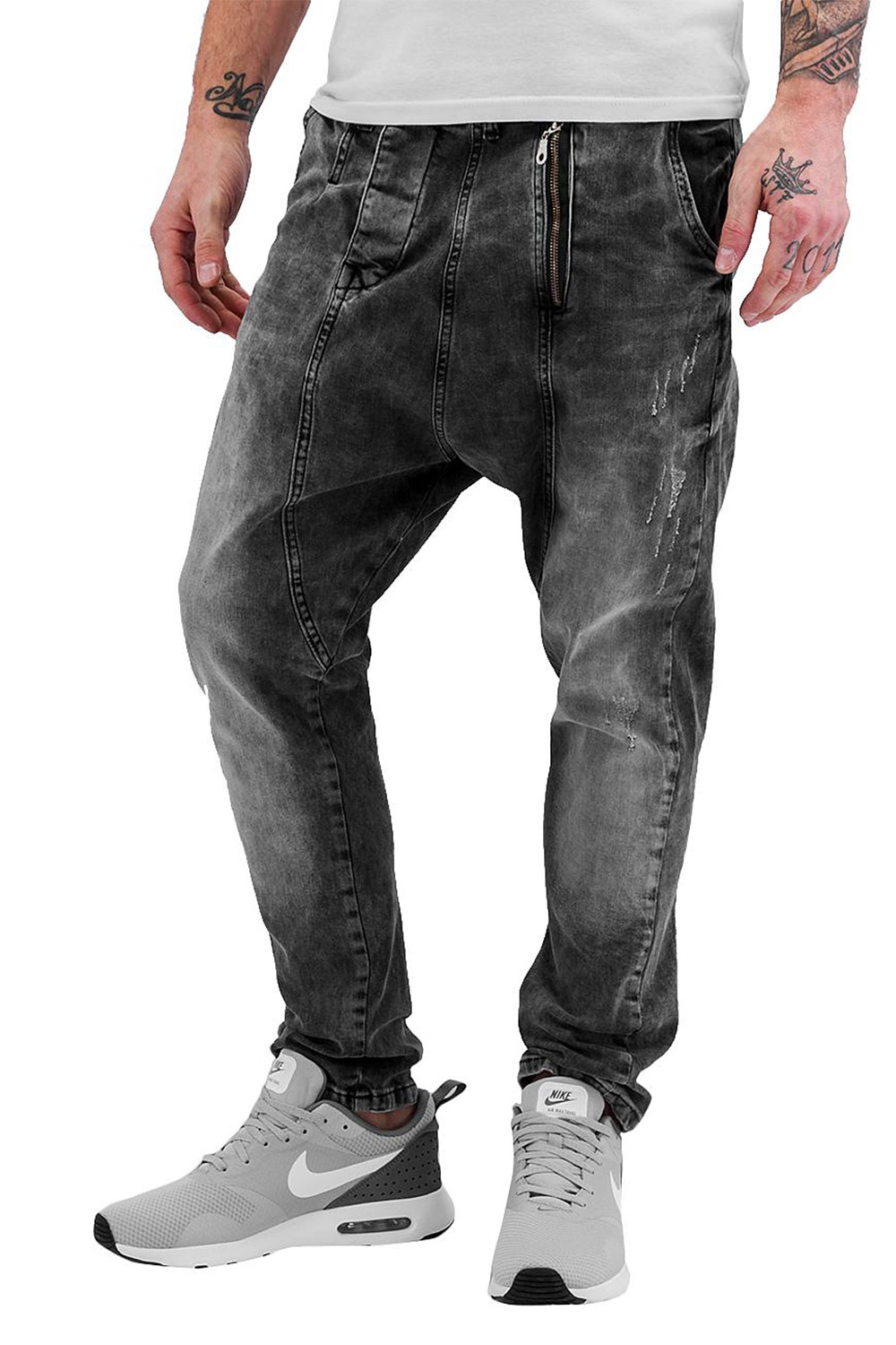 BANGASTIC Anti Fit Jeans Dark Grey auf oboy.de