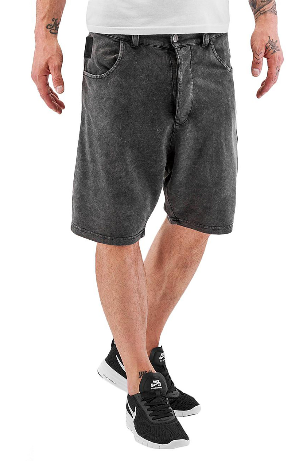 BANGASTIC Crocodile Shorts Dark Grey/Colored auf oboy.de