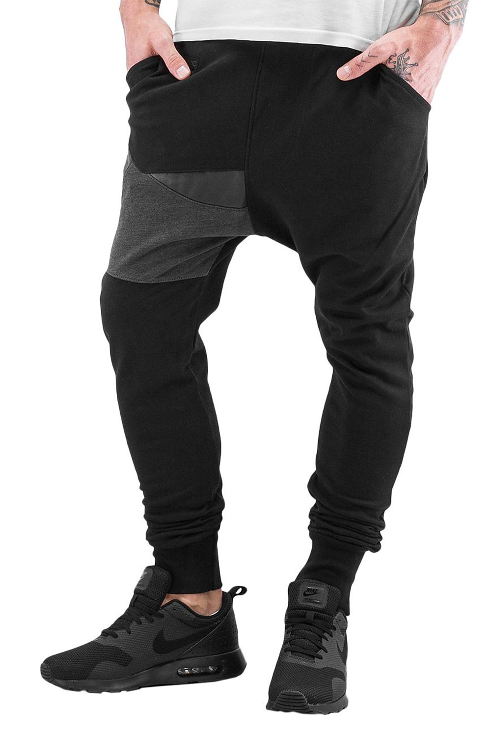 BANGASTIC Moe Sweat Pants Black auf oboy.de