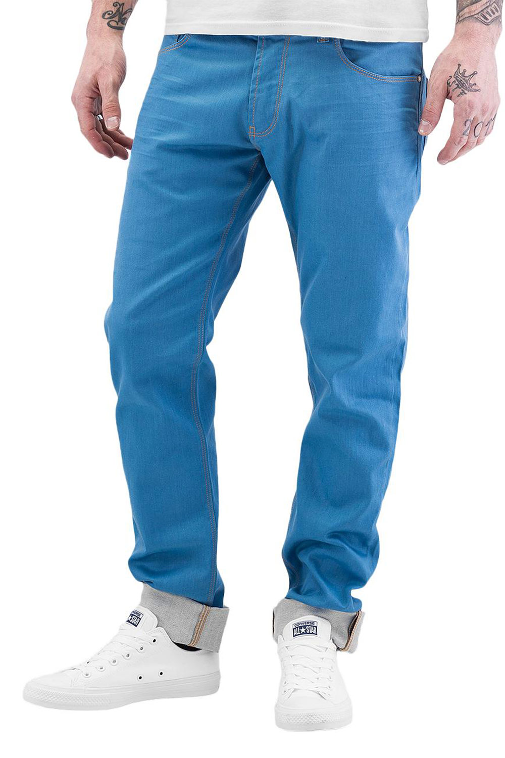 CAZZY CLANG Tone Straight Fit Jeans Blue auf oboy.de