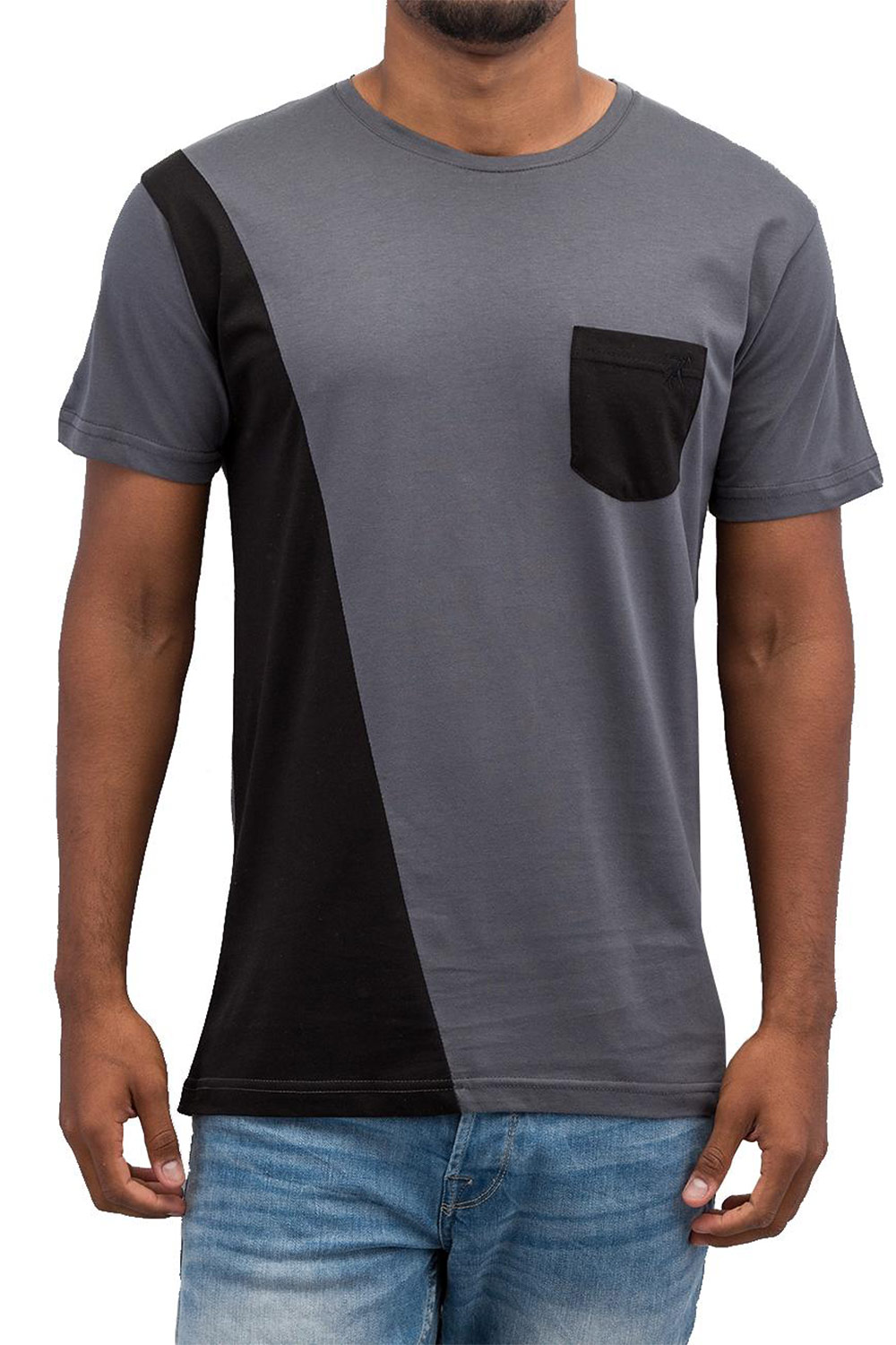 CAZZY CLANG Pocket II T-Shirt Grey/Black auf oboy.de
