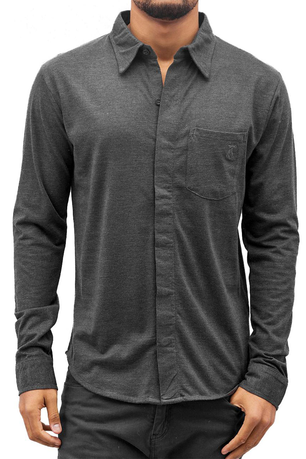 CAZZY CLANG Shirt Anthracite auf oboy.de
