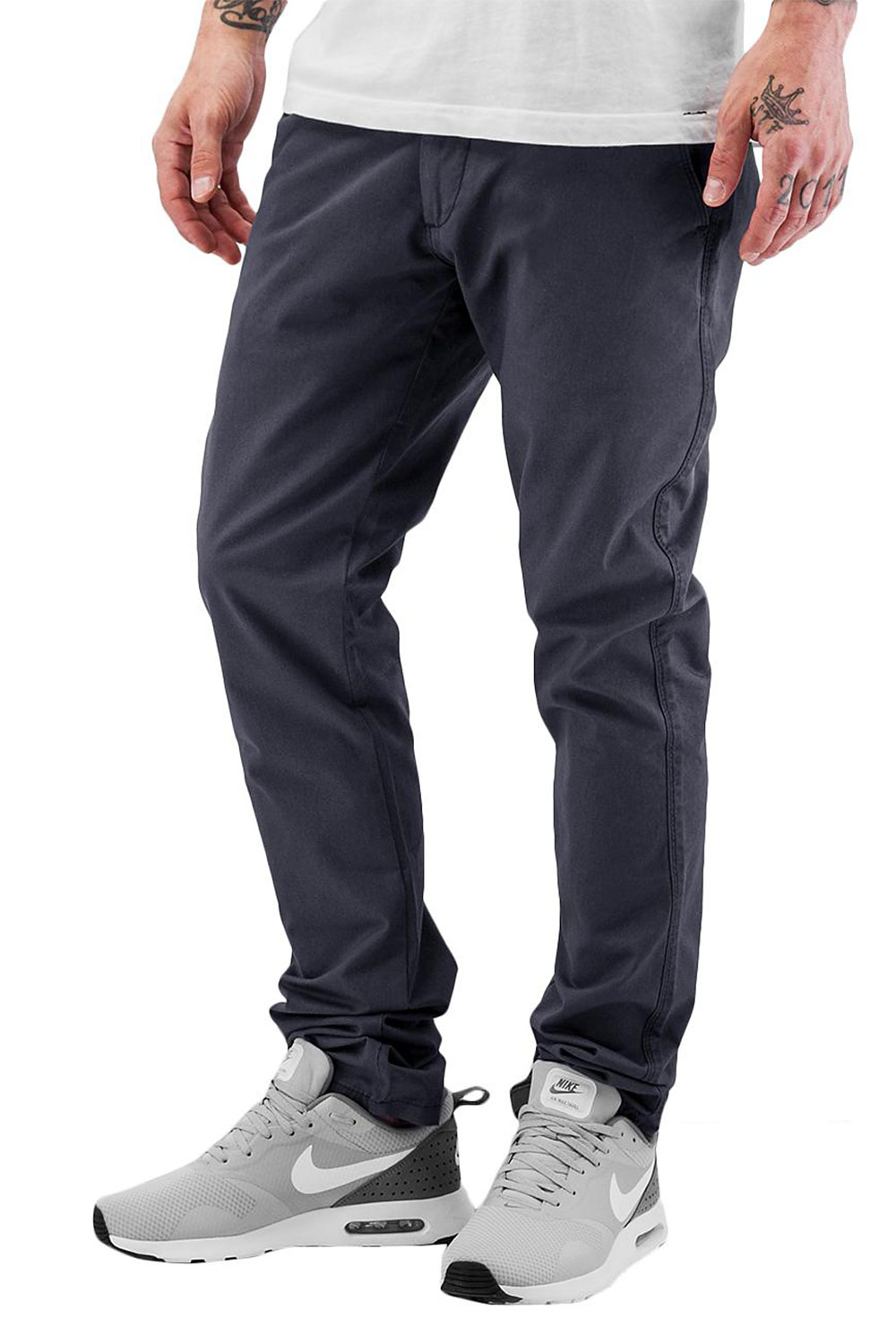 CAZZY CLANG Basic Chino Pants Dark Grey auf oboy.de
