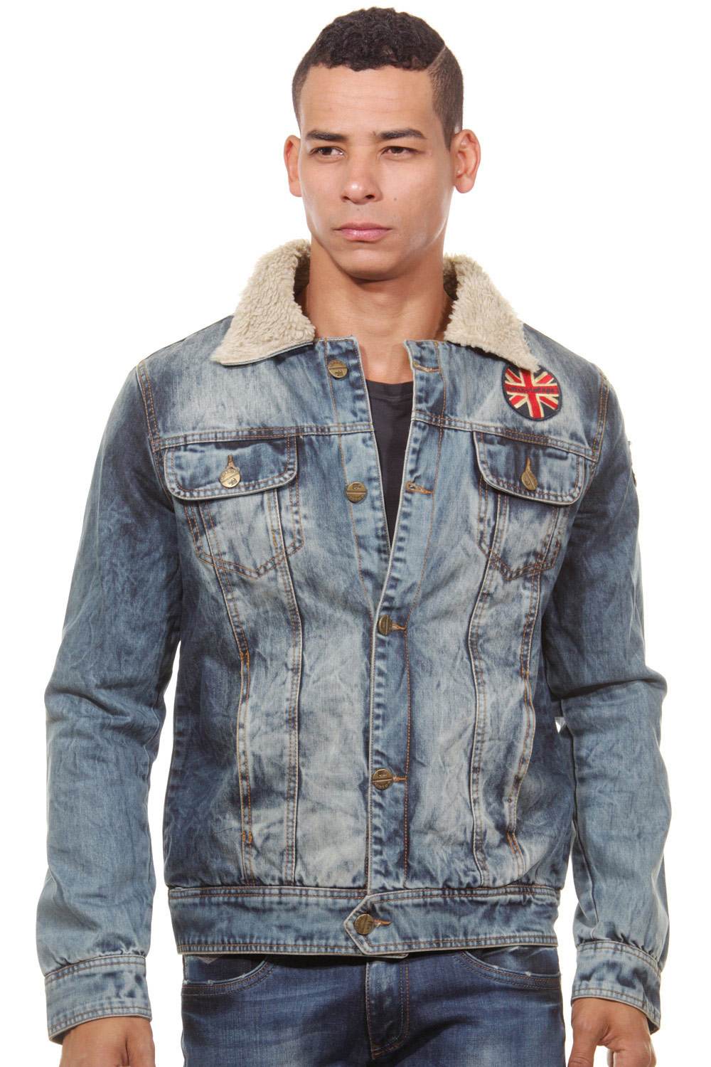 CATCH Jeansjacke slim fit auf oboy.de