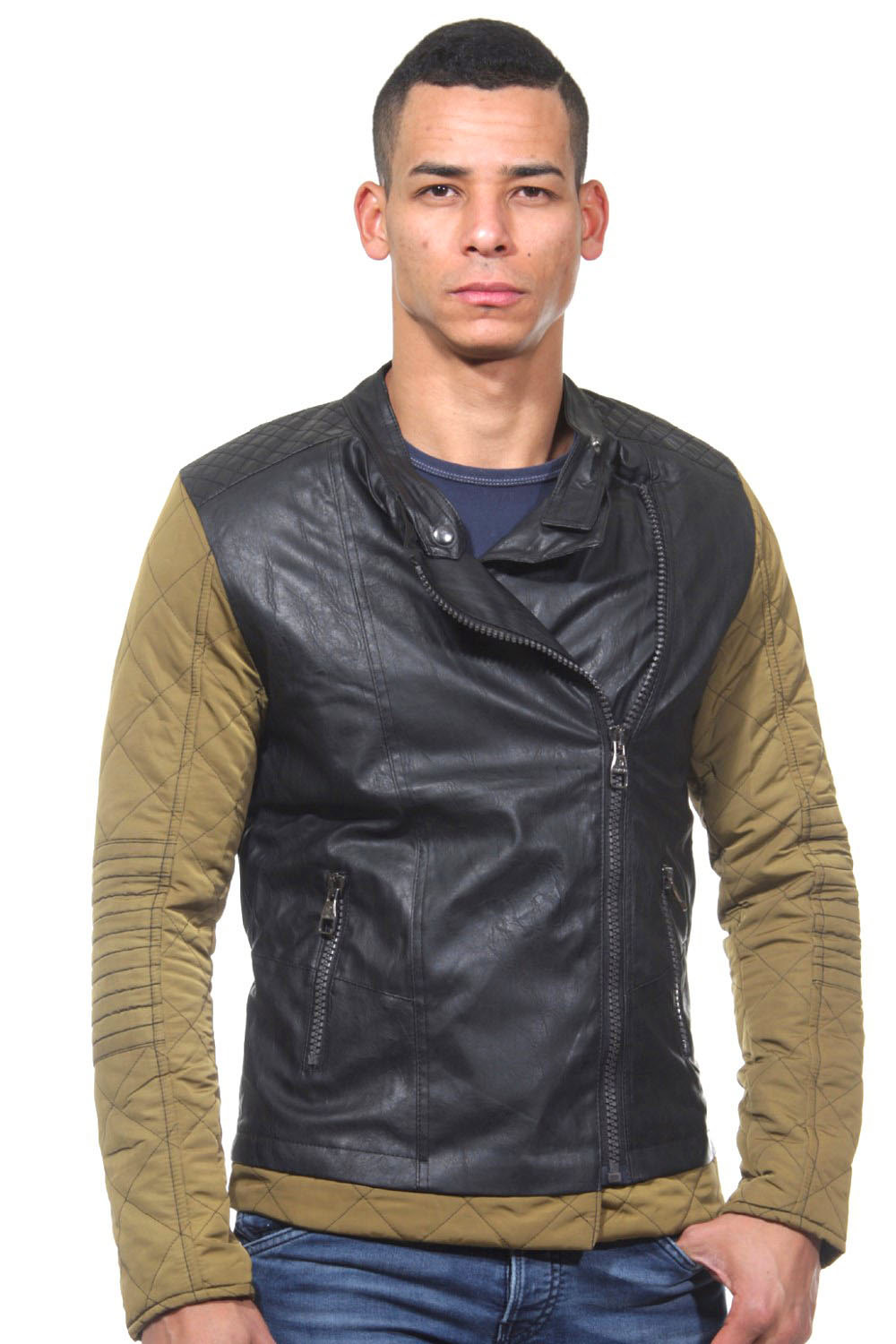 CATCH Bikerjacke slim fit auf oboy.de