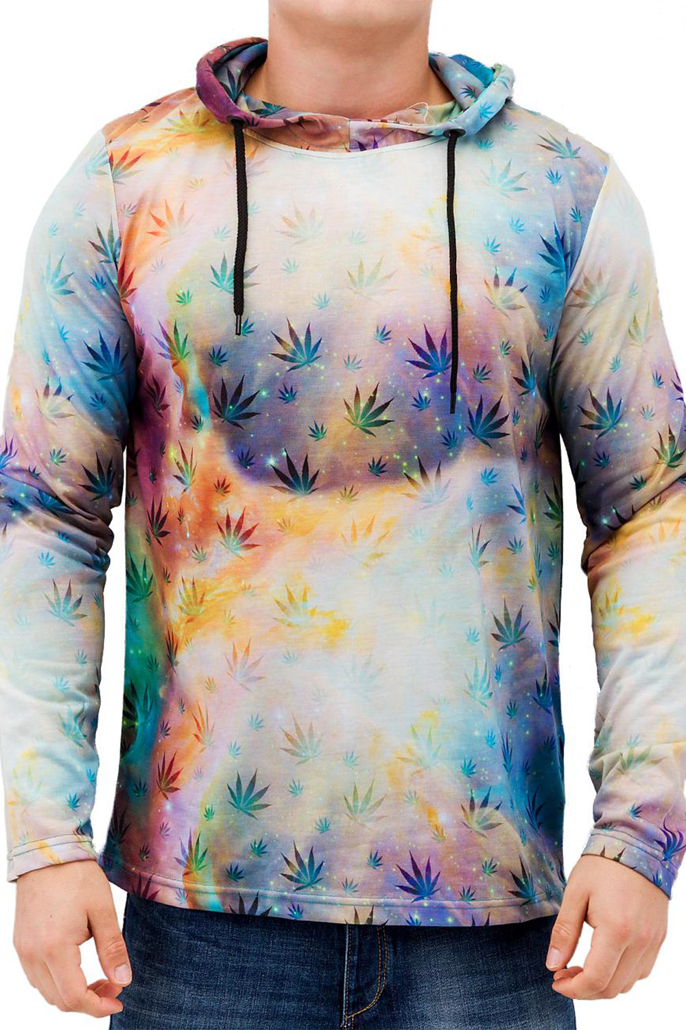 JUST RHYSE Hemp Vs Galaxy Hoody Colored auf oboy.de