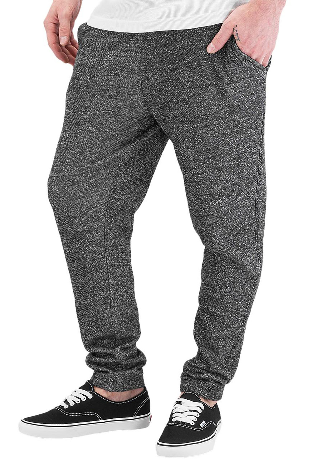 JUST RHYSE Basic Sweat Pants Antracite auf oboy.de