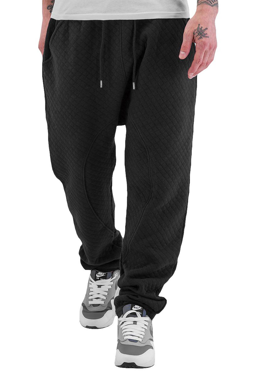 JUST RHYSE Coolness Sweat Pants Black auf oboy.de