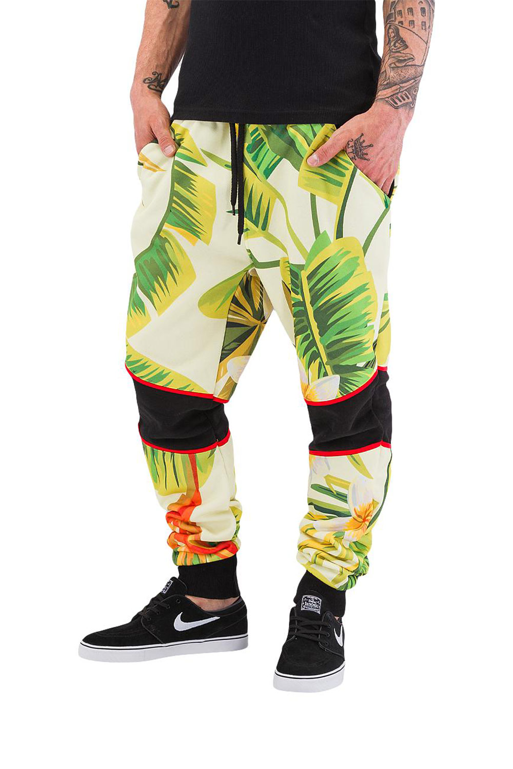JUST RHYSE Flower Sweat Pants Colored auf oboy.de