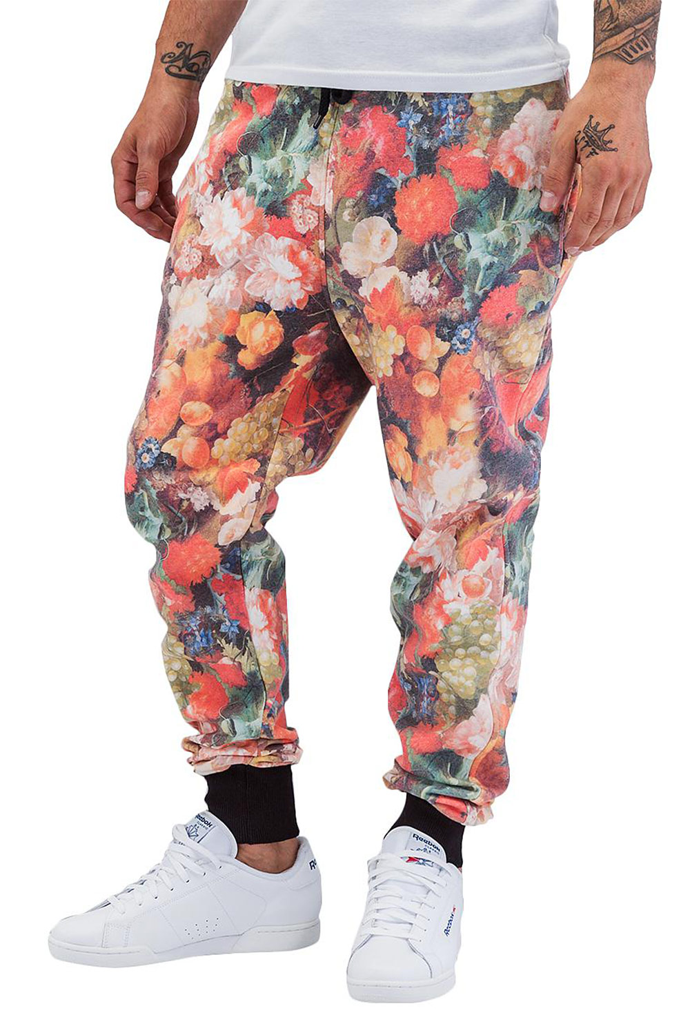 JUST RHYSE Beat All Over Sweat Pants Colored auf oboy.de