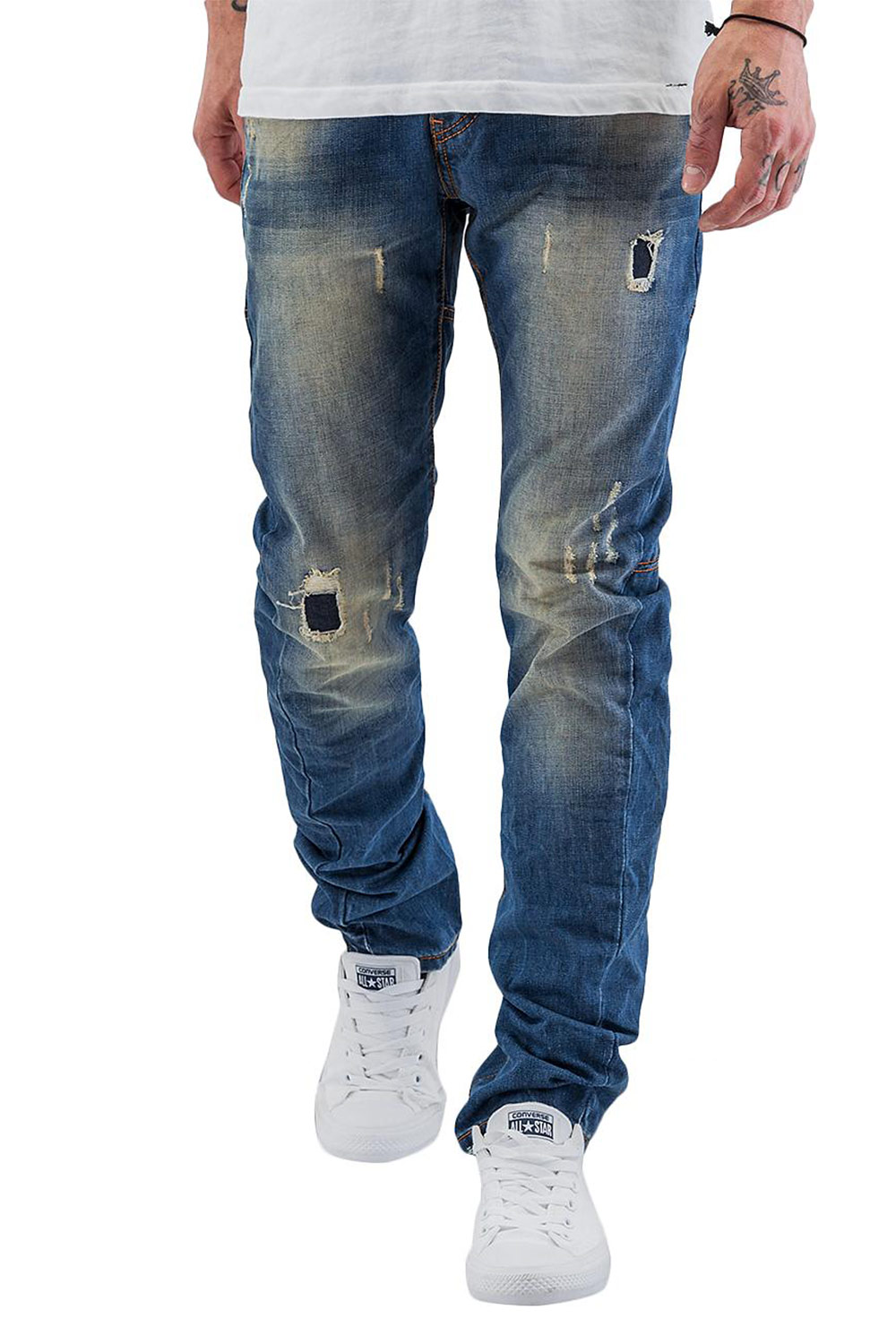 JUST RHYSE Shion Skinny Jeans Blue auf oboy.de