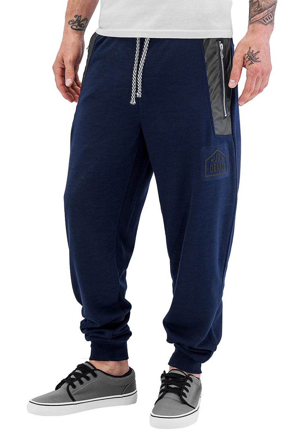 JUST RHYSE Ray Sweat Pants Navy auf oboy.de