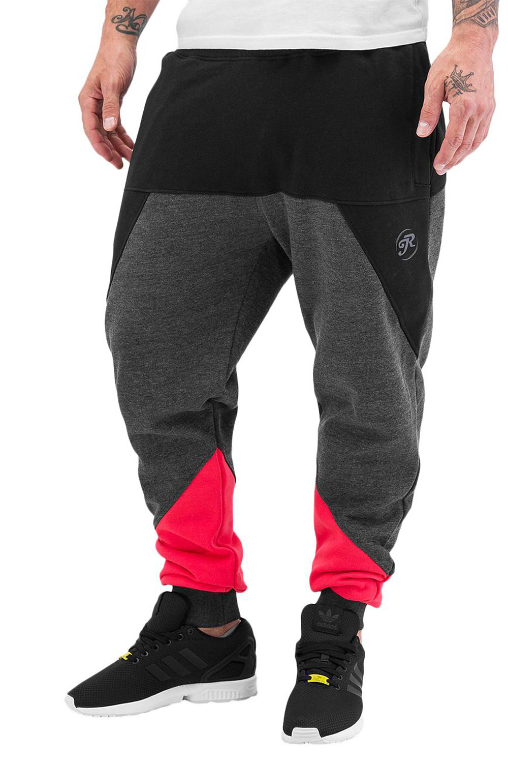 JUST RHYSE Network II Sweat Pants Black auf oboy.de