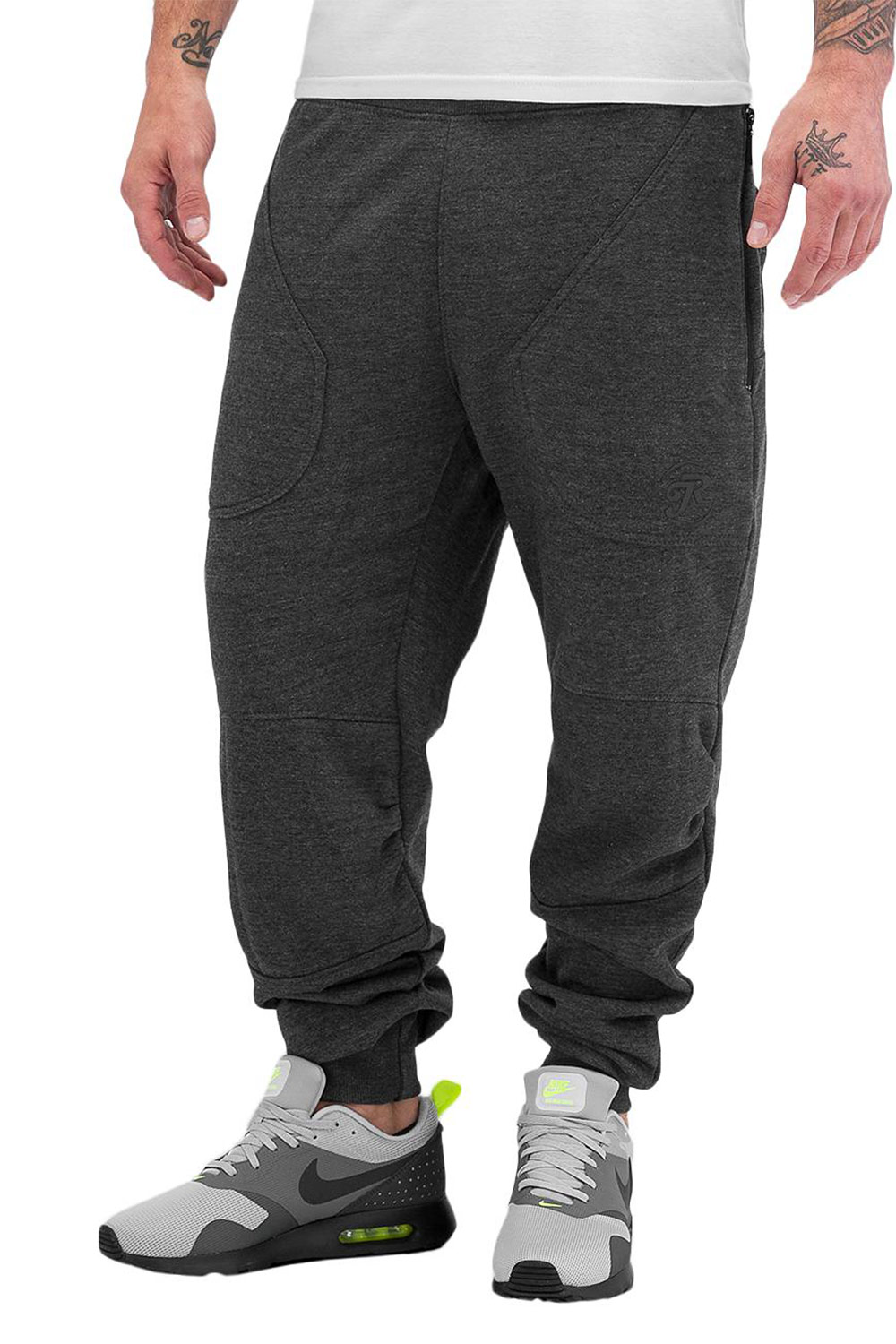 JUST RHYSE Lenny Sweat Pants Black auf oboy.de