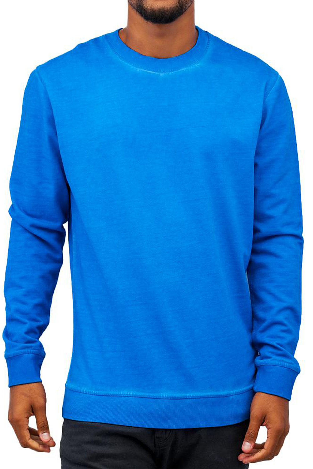 JUST RHYSE Dye Sweatshirt Blue auf oboy.de