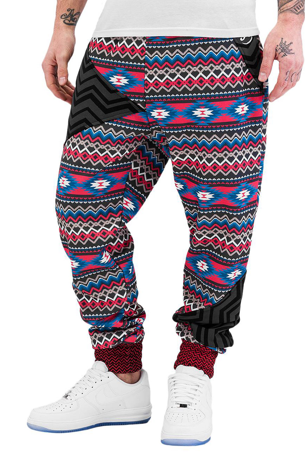 JUST RHYSE India Sweat Pants Black auf oboy.de
