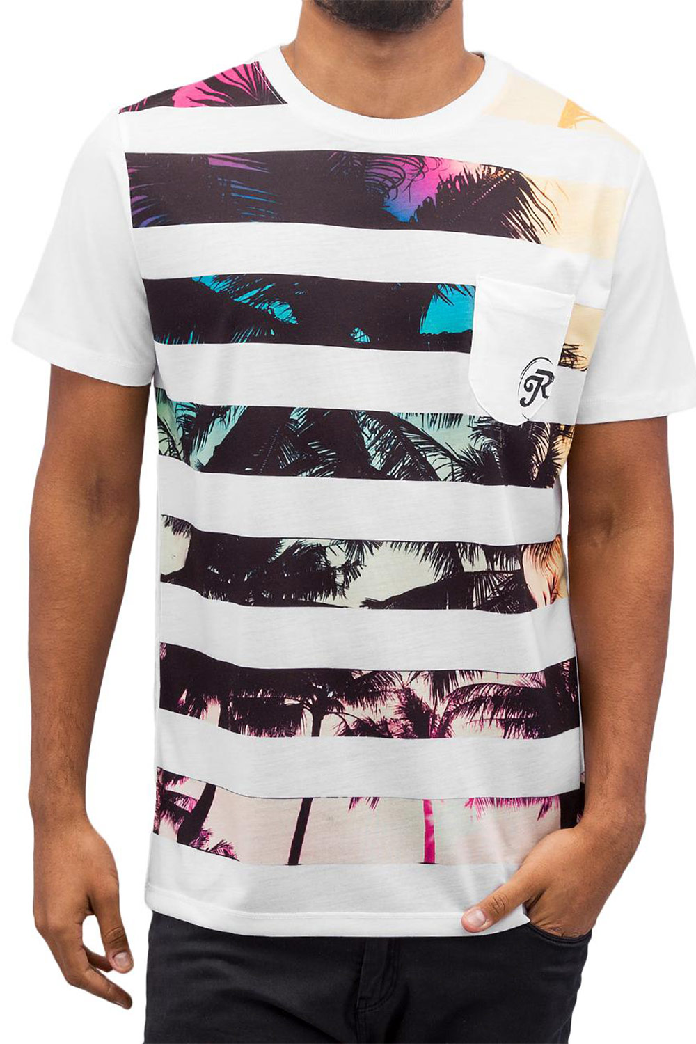 JUST RHYSE Oliver T-Shirt White auf oboy.de