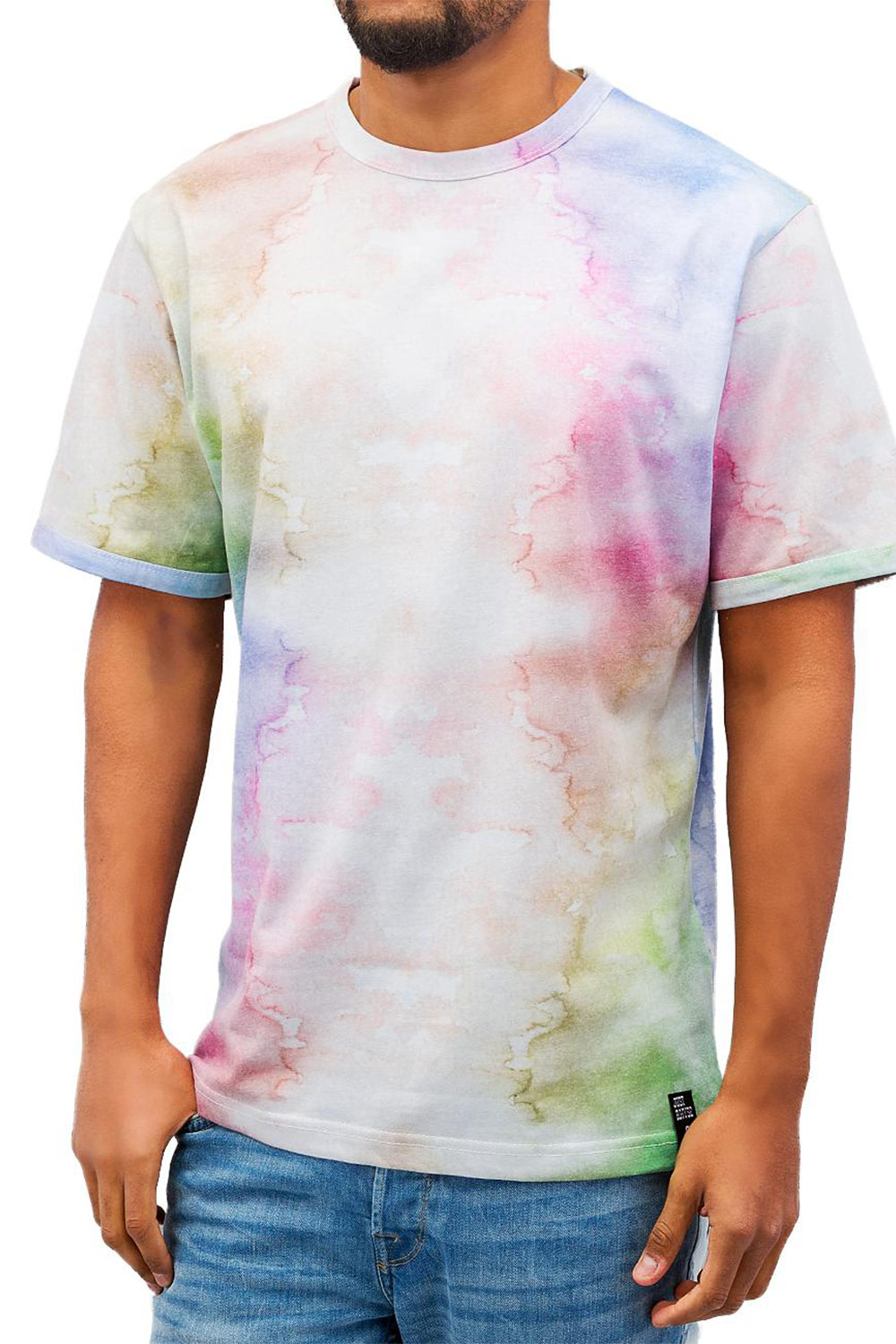 JUST RHYSE Multi Color T-Shirt Multi auf oboy.de