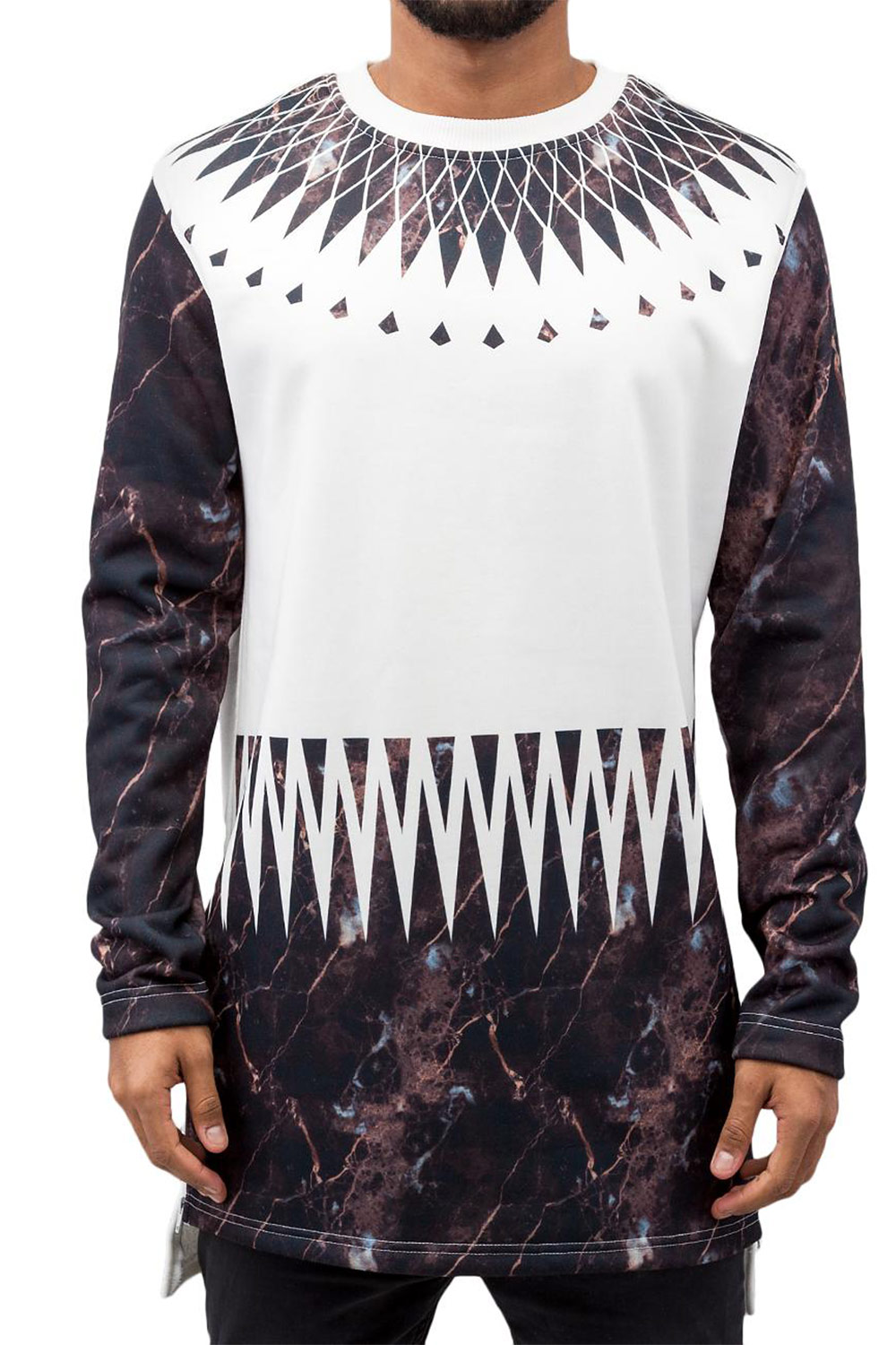 JUST RHYSE Mable Sweatshirt Black/White auf oboy.de