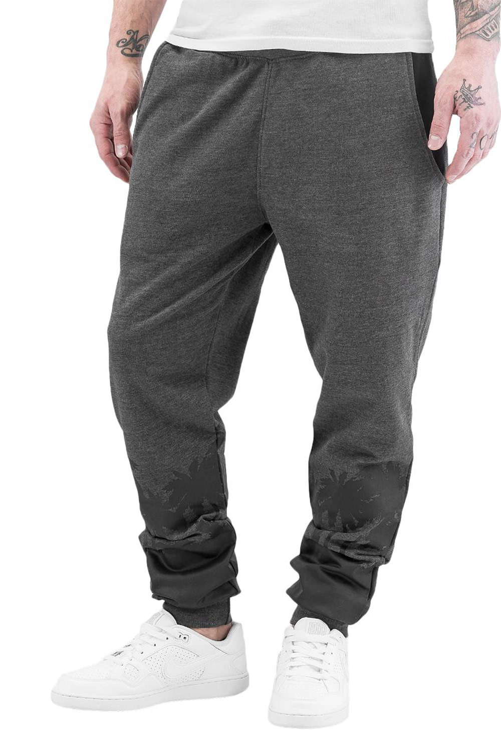 JUST RHYSE Palms Sweat Pants Grey auf oboy.de