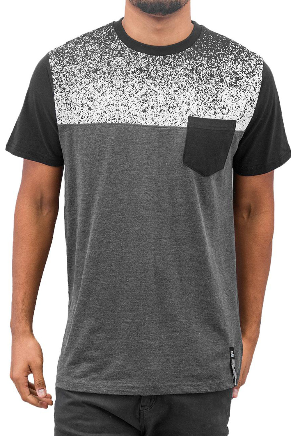 JUST RHYSE Savio T-Shirt Black auf oboy.de