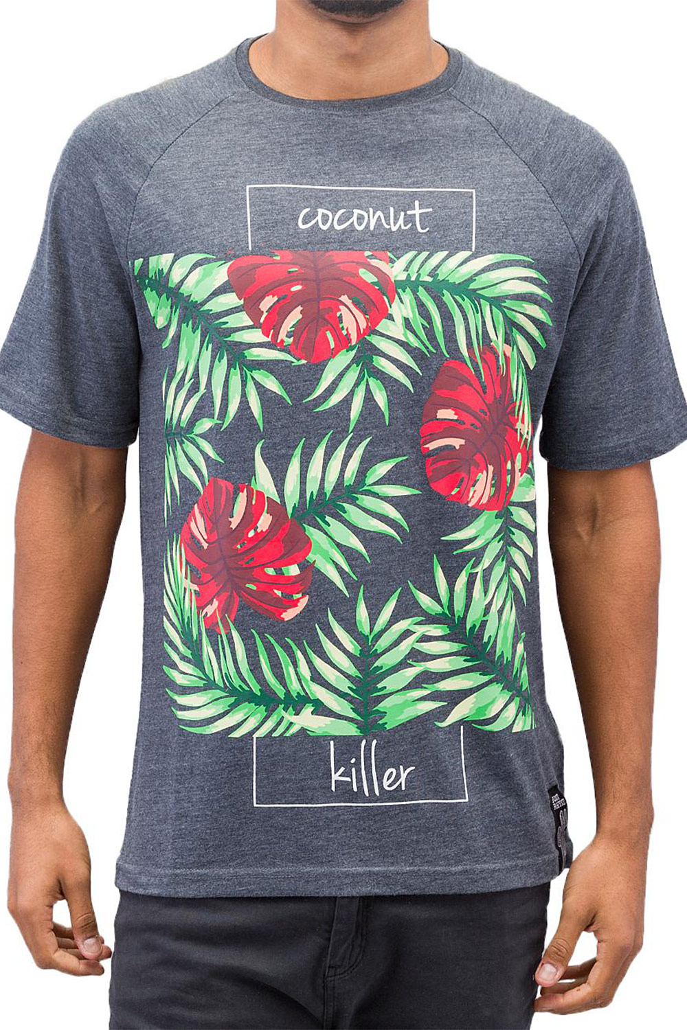 JUST RHYSE Coconut Killer T-Shirt Black auf oboy.de