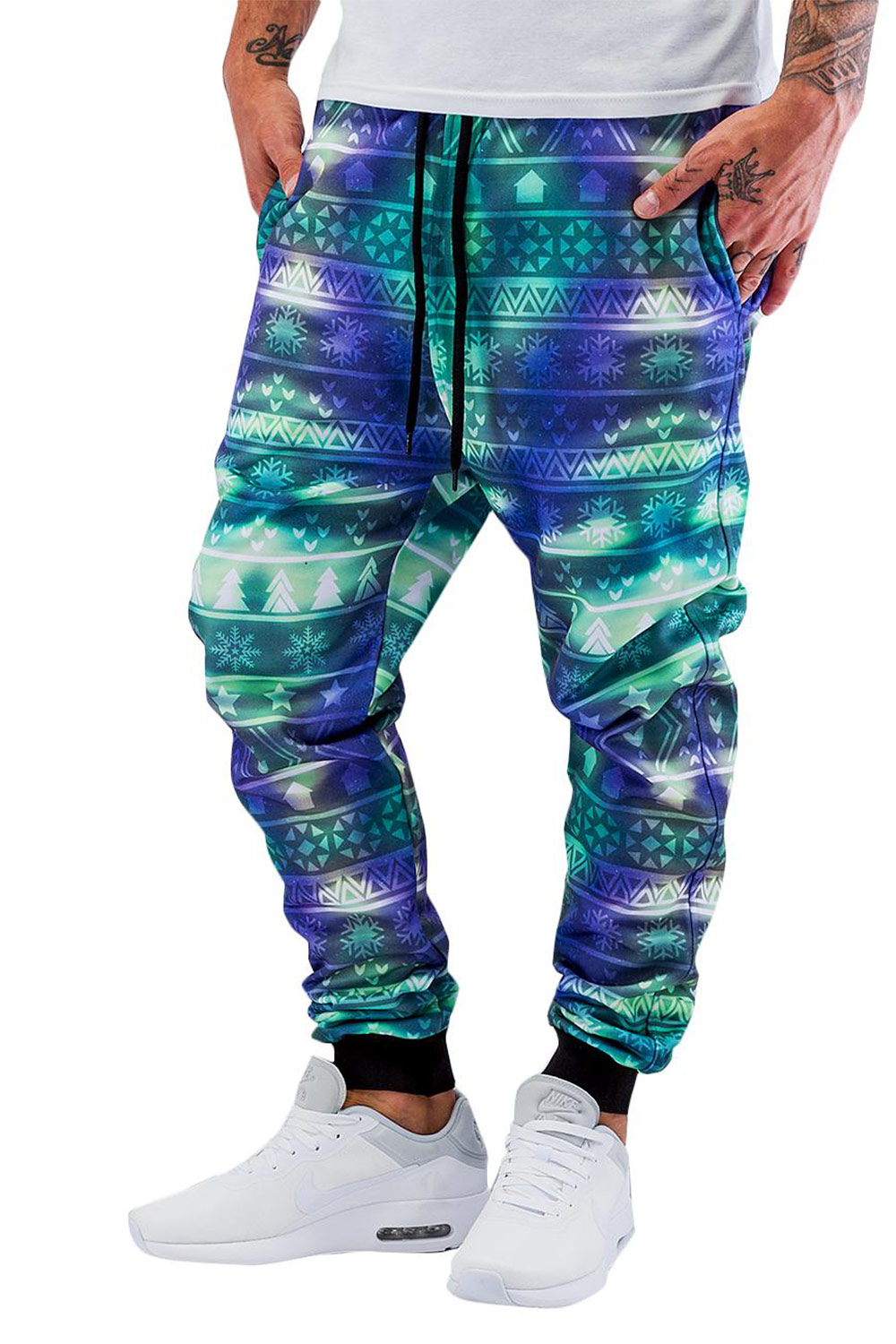 JUST RHYSE Christmas Sweat Pants Colored auf oboy.de