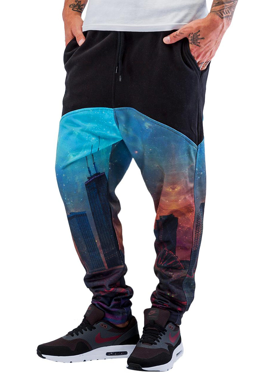JUST RHYSE City Sweat Pants Black/Colored auf oboy.de