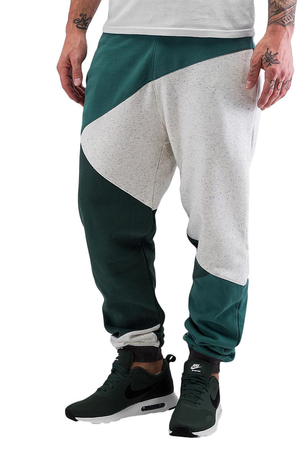 JUST RHYSE Cain Sweat Pants Olive auf oboy.de