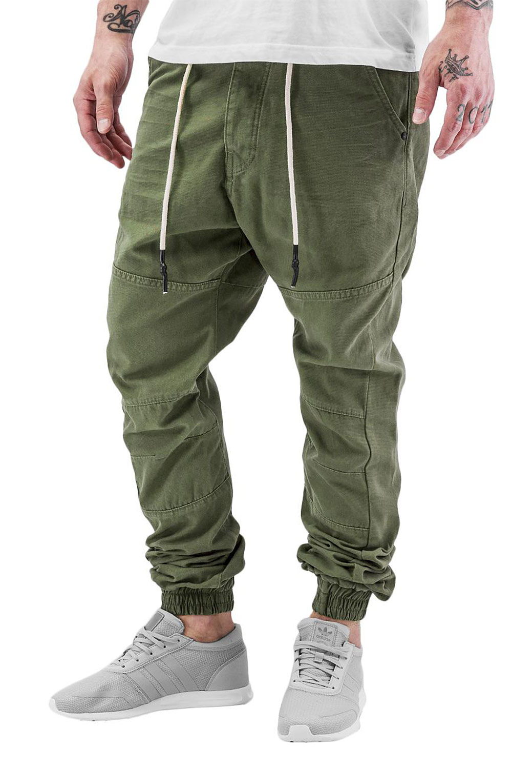 JUST RHYSE Börge Chino Jeans Olive auf oboy.de