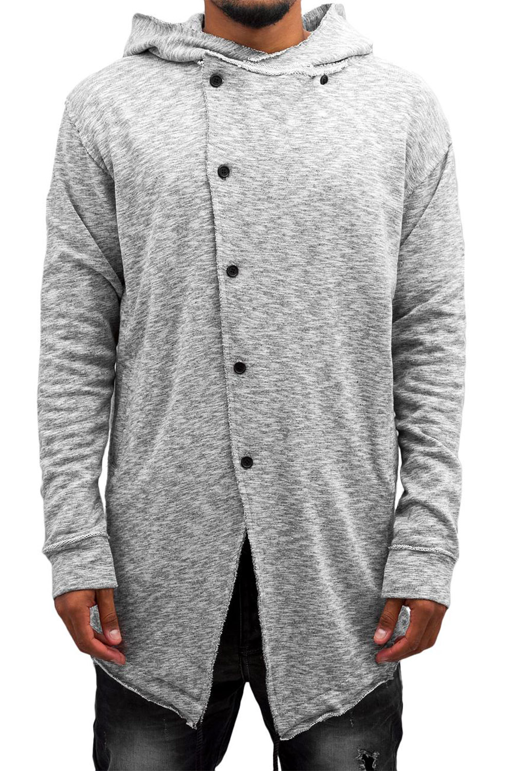 JUST RHYSE Era Cardigan Dark Grey auf oboy.de