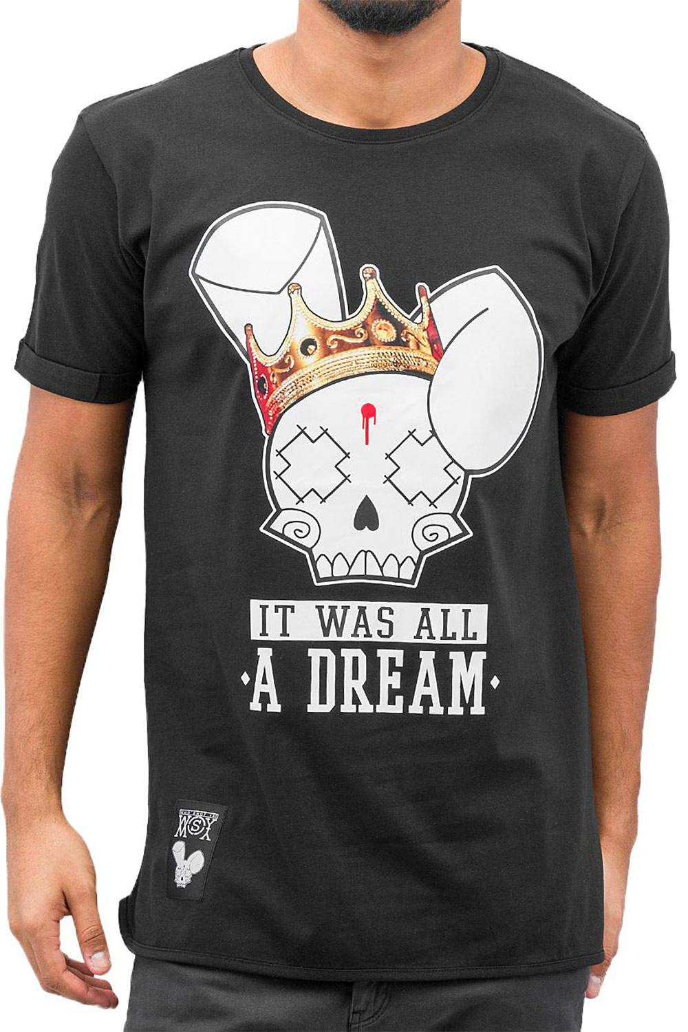 WHO SHOT YA? Dream T-Shirt Black auf oboy.de