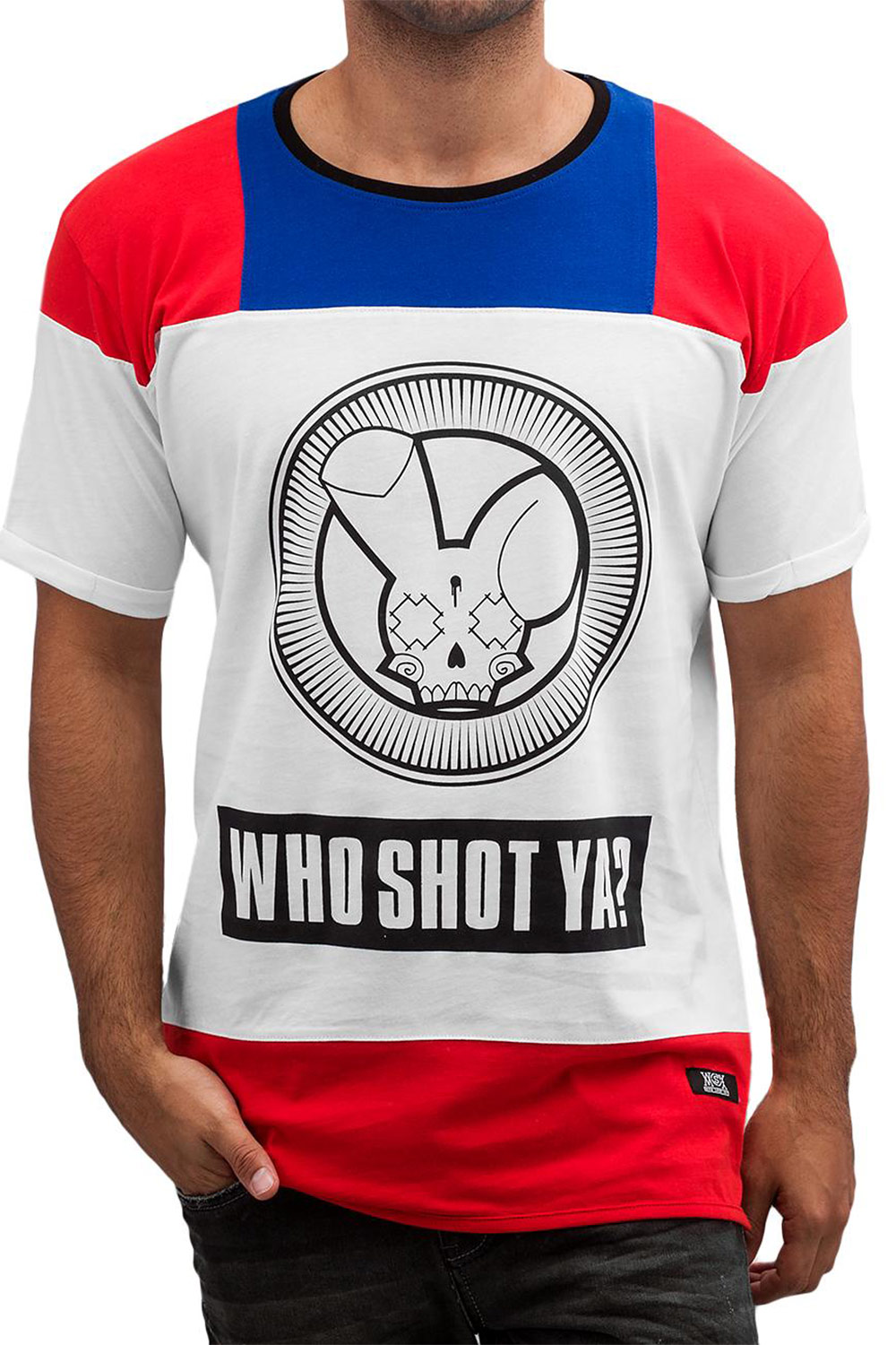 WHO SHOT YA  Logo T-Shirt White auf oboy.de