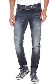 JACK & JONES JJORGLENN FOX BL 469 Stretchjeans slim fit