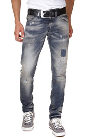 JACK & JONES JJORGLENN FOX BL 471 Stretchjeans slim fit