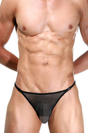 L`HOMME INVISIBLE FISHNET String Streaptease auf oboy.de