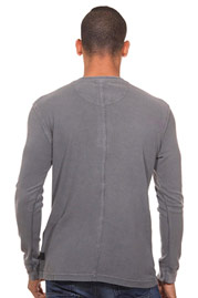 TOM TAILOR Henley Langarmshirt regular fit auf oboy.de