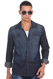 XINT Jeanshemd regular fit auf oboy.de
