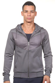 BY STUDIO Kapuzensweatjacke slim fit auf oboy.de