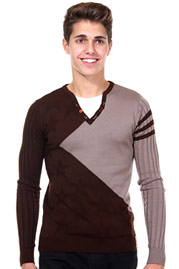 R-NEAL Pullover 2in1 slim fit auf oboy.de