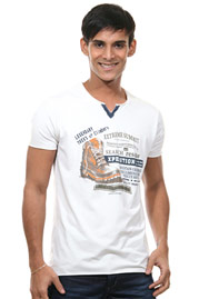 MCL Henley T-Shirt regular fit auf oboy.de