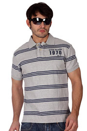 DITCH PLAINS Vintage Polo Stripes auf oboy.de