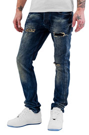 BANGASTIC Widow Straight Fit Jeans Blue auf oboy.de